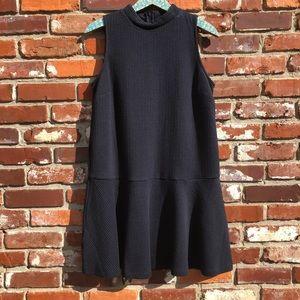 Loft | high neck waist drop dress